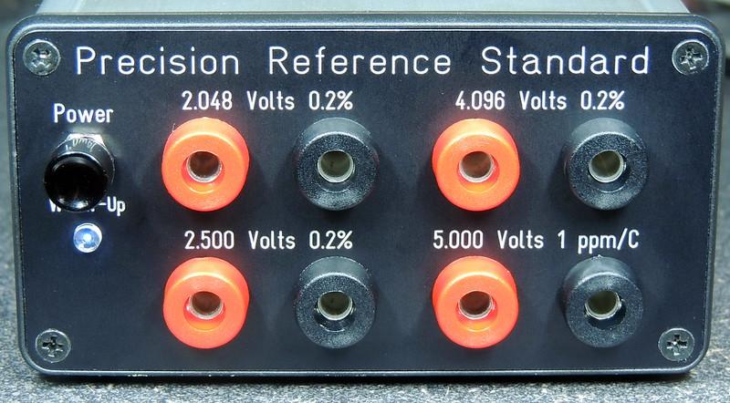 Quad Output precision voltage reference