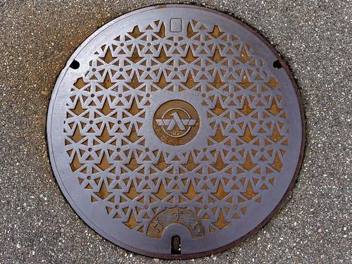 Tsubata Ishikawa, manhole cover 5 (石川県津幡町のマンホール5)