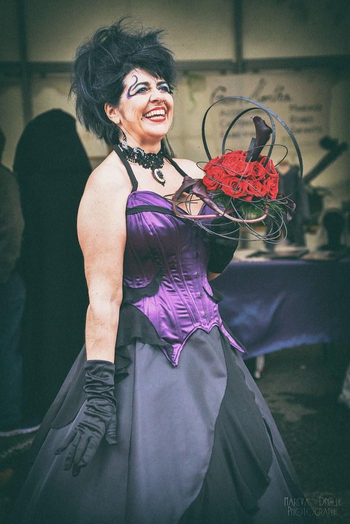 Robe de mariée gothique - Ursula