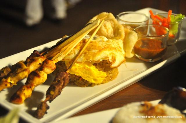 Local Lombok Dish at Kayangan