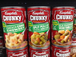 Campbell Chunky Soup Glycemic Food List