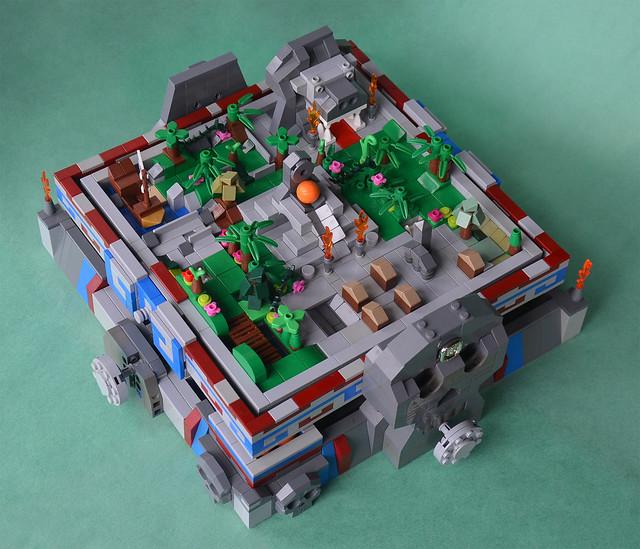 Escape from the Jungle Temple - Aztec Maze personnalisé