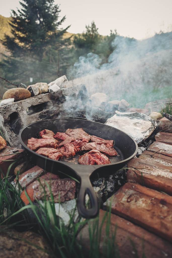 Everything Tastes Better When Cooking Over a Fire