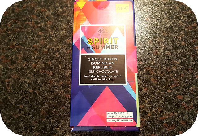 M&S Single Origin Dominican Republic Chocolate Bar