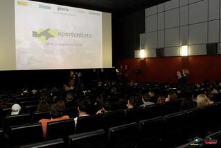 Gentis presenta el Centre de Noves Oportunitats a Roquetes