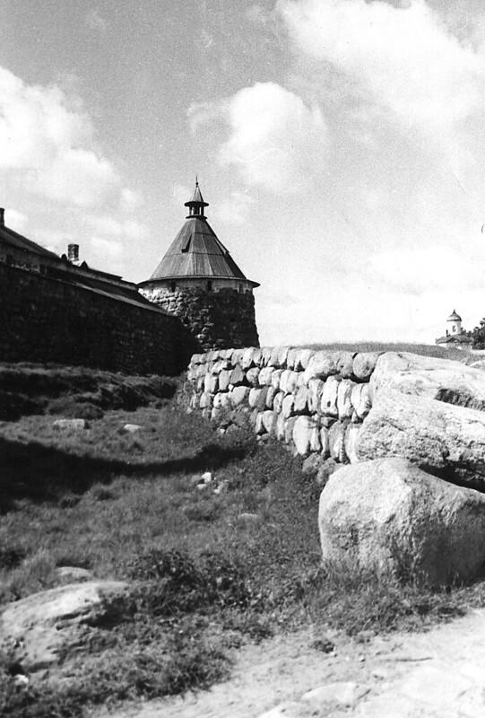 Соловки башня и камни