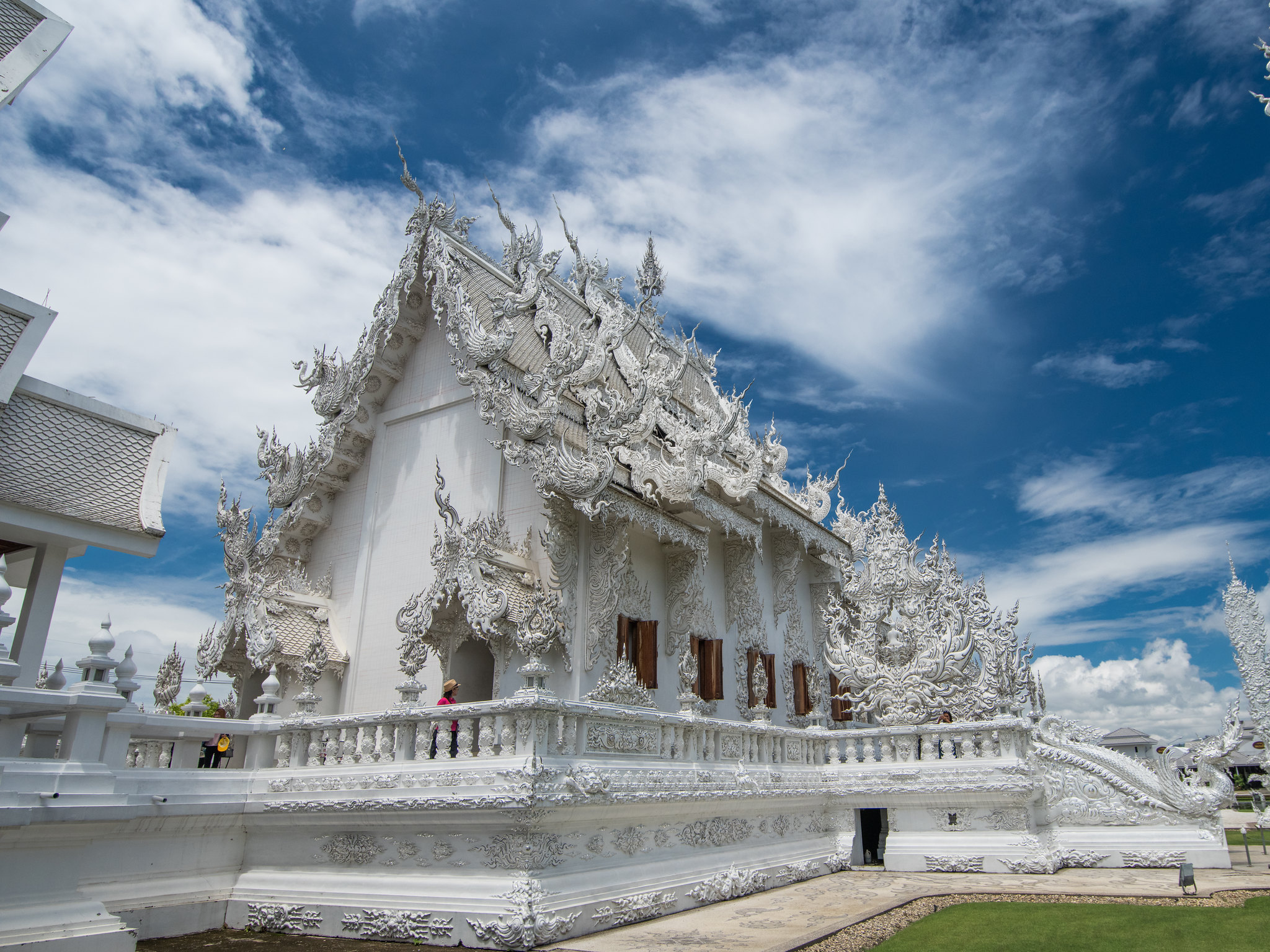 Pentax 645Z 泰國清邁 黑白廟