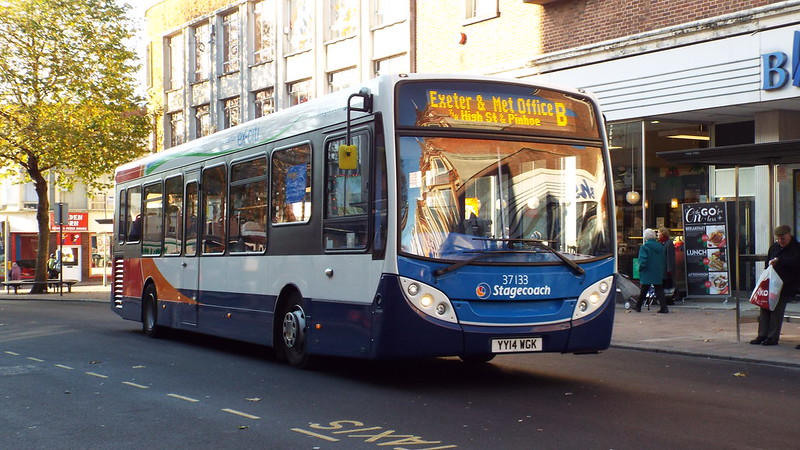 Stagecoach - YY14WGK - Exeter - 3 December 2014 (2)