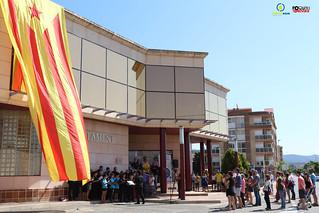 La Diada de Catalunya a Roquetes 11 de setembre de 2016