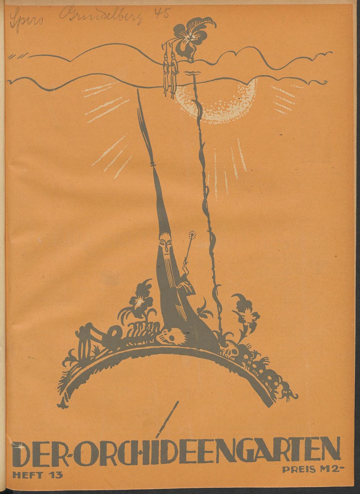 Der Orchideengarten - 1920 (Cover 13)