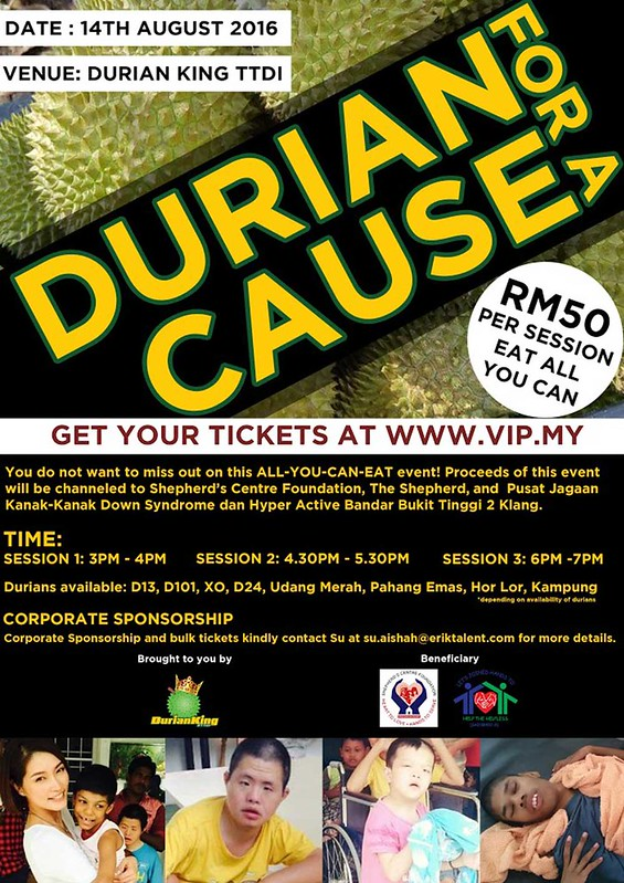 durian with a cause full
