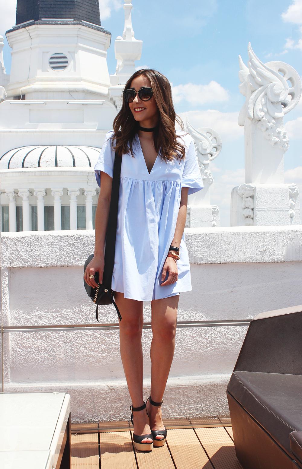 Light Blue Jumpsuit black sandals coach bag aristocrazy accesorries summer outfit08