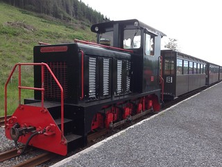Replacement diesel at Brecon Mountain Railway