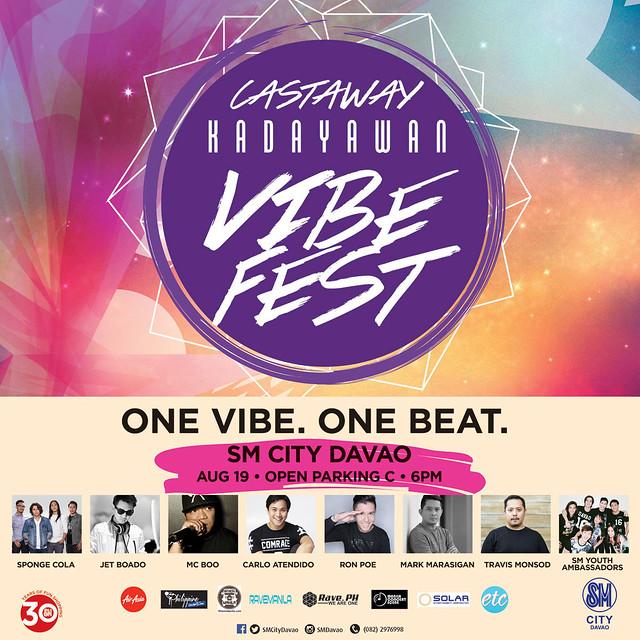 Castaway Kadayawan Vibe Fest at SM City Davao by SMCD