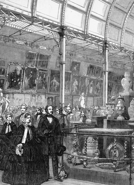 Art Treasures Exhibition, Royal Visitors, Queen Victoria and Prince Albert