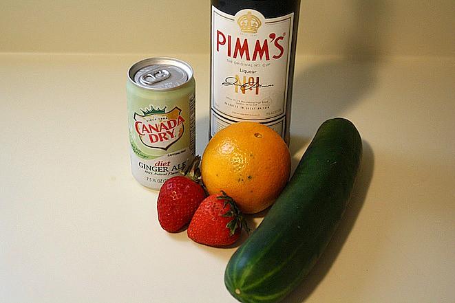 Pimms & Lemonade