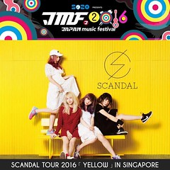 SCANDAL TOUR 2016「YELLOW」IN SINGAPORE