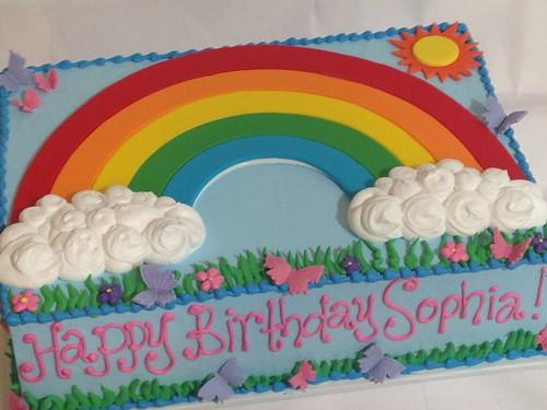 Rainbow Cake G