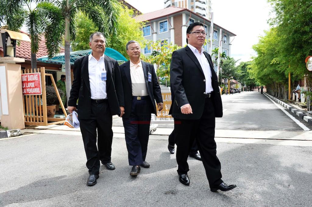 Datuk Huan Cheng Guan Lodge A Report To MACC Regrading Penan Tunnel (3 June 2016)