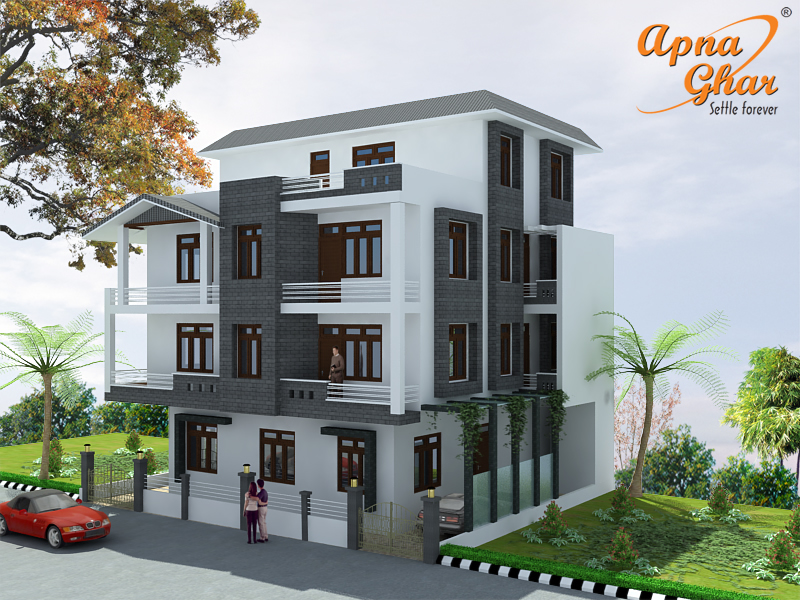 Triplex home designs - Home design