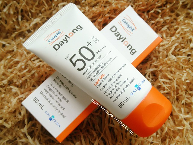 Daylong Sunscreen SPF50 Very High Protection Cetaphil Light Gel Review