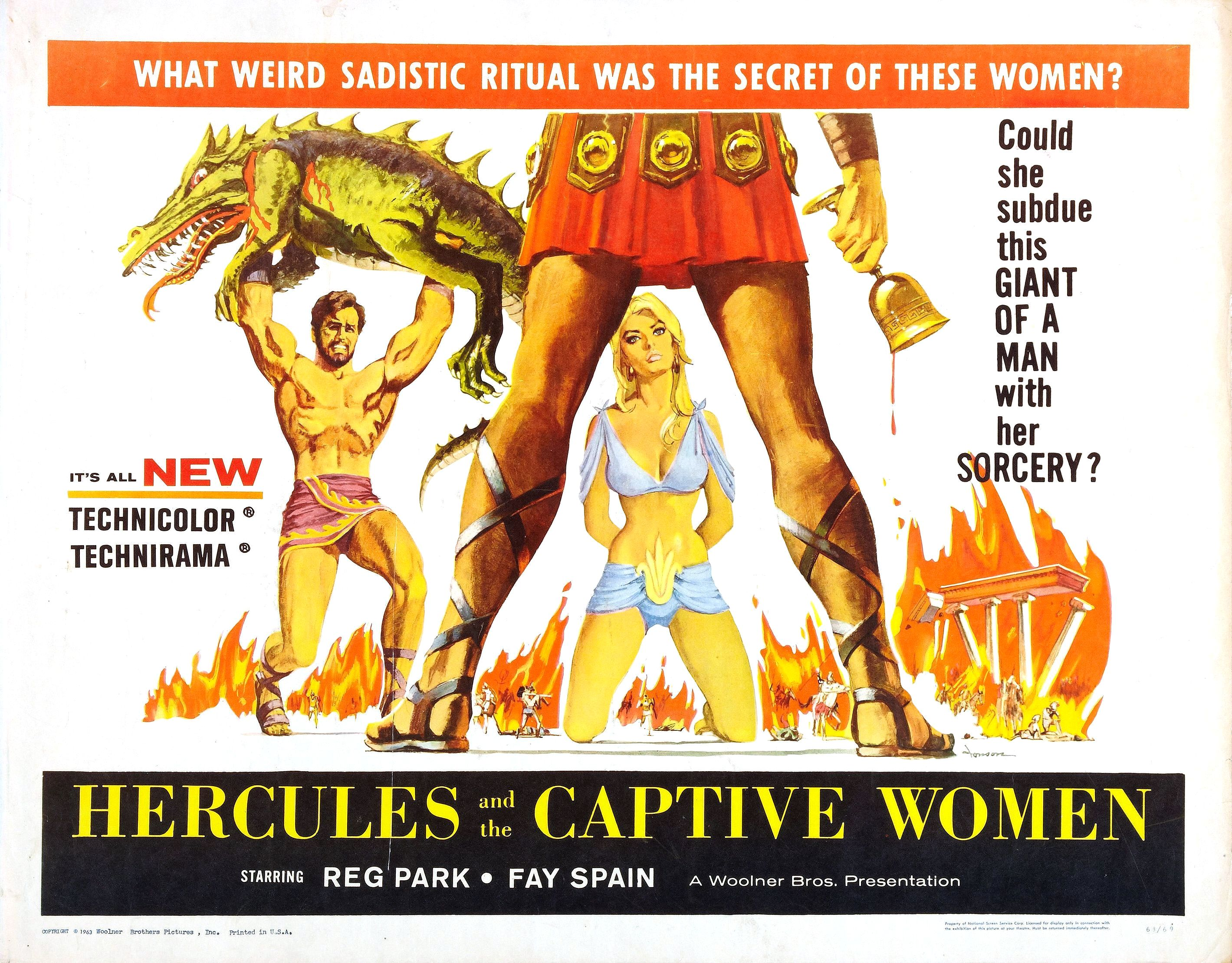 Hercules and the Captive Women (1961)