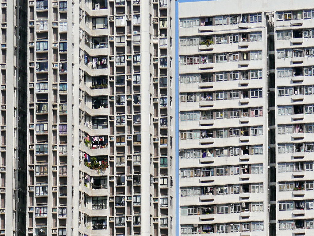 High density living in Kowloon. Image: Jay Sterling Austin, CC
