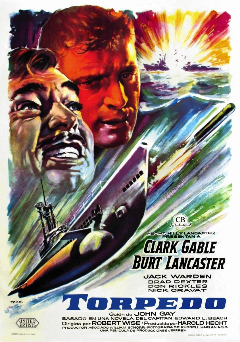 run silent run deep 1958 amazing movie posters