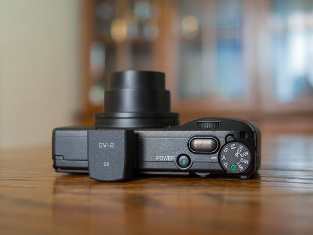 Ricoh GR Digital 3 & GV-2 optional viewfinder