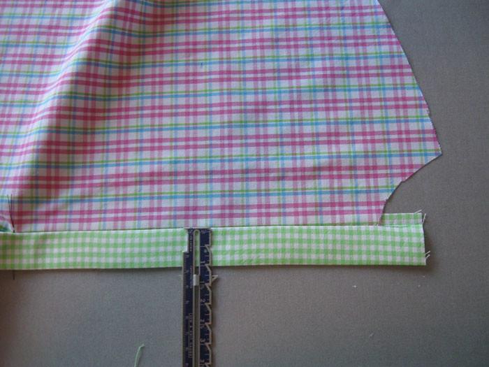 measure placket width
