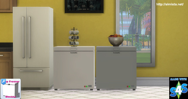 Deep Freezer Deco Only Simista A Little Sims 4 Blog