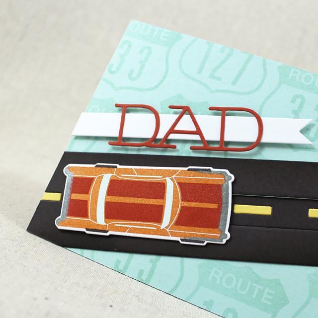 Classic Dad Car Close Up