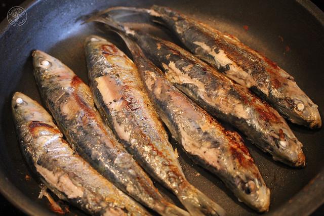 Migas de semola con melon y sardinas (20)