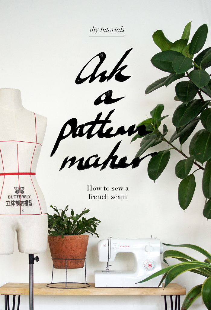 Ask a Pattern Maker: How to Sew a French Seam