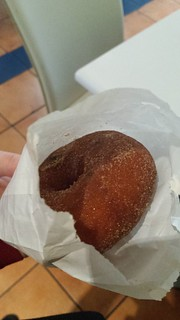 Doughnut at Loving Hut