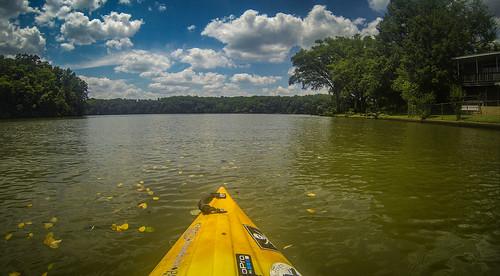 Kayaking and SUP on Saluda Lake-63