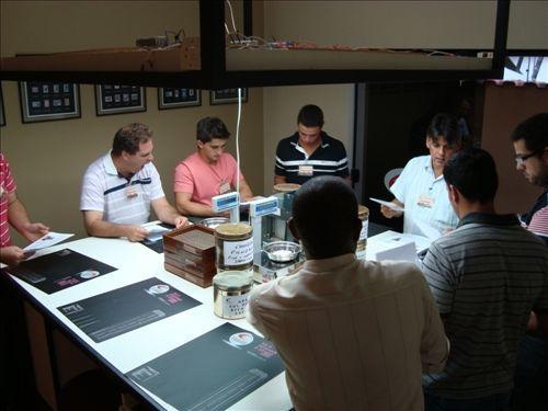 Curso de Classificação e Degustação de Café (2013)