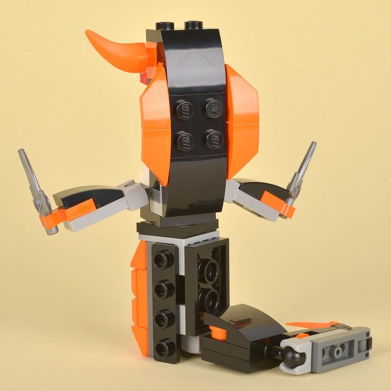 """Playmobil Miniature Castle Orange /""""Wood/"""" Trough w// Handles 3371x 3441 4440"""