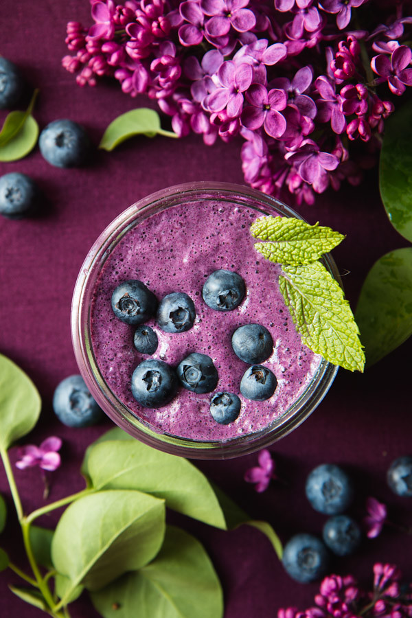 Blueberry Beet Smoothie | Will Cook For Friends