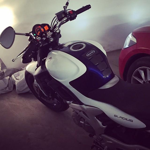 En tur med motorcykeln