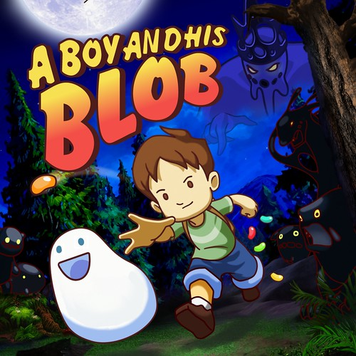 A Boy and His Blob