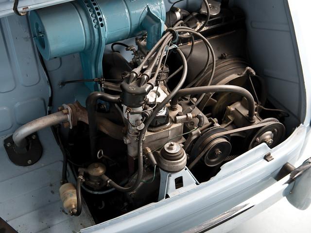 Двигатель SEAT 600. 1957 – 1963 годы
