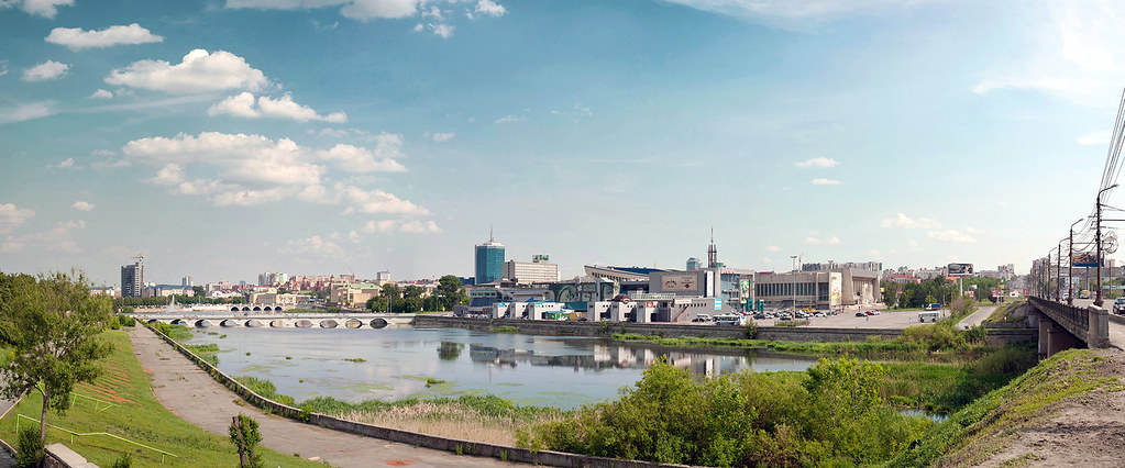 Панорама Челябинска / Chelyabinsk city panoramic photo
