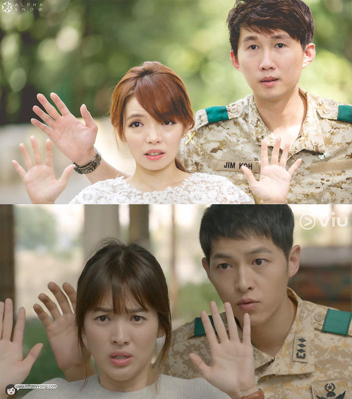 Song Joong Ki Descendants of the Sun Ep10 Surrender