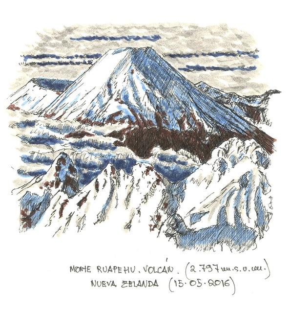 Ruapehu (2.797 m.s.n.m.)