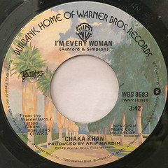 CHAKA KHAN:I'M EVERY WOMAN(LABEL SIDE-A)