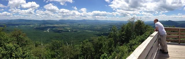 Kennedy Peak on Massanutten, overlooking Page County