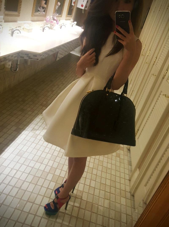 AQAQ white dress
