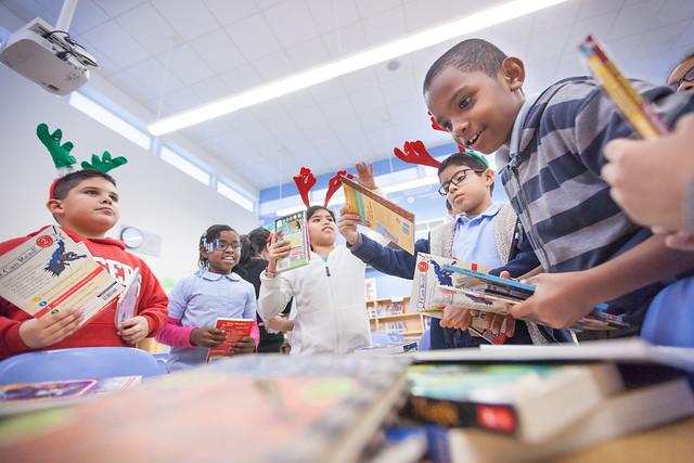 [FIU] Book Drive Broadmoor Elementary
