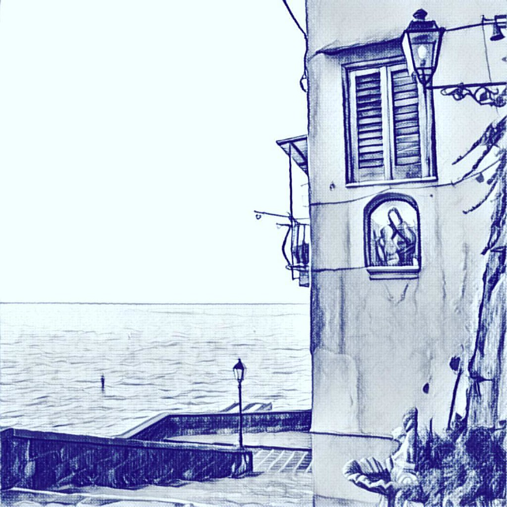 Сорренто Марина гранде #италия #сорренто #italy #sorrento #my_love_italy #prisma #prismainsta  #prismaart  #prismaru